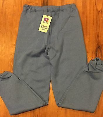 "USA Vintage RUSSELL ATHLETIC BLUE Adult M SWEATPANTS NWT Unisex ""PowerFit Sweat"""
