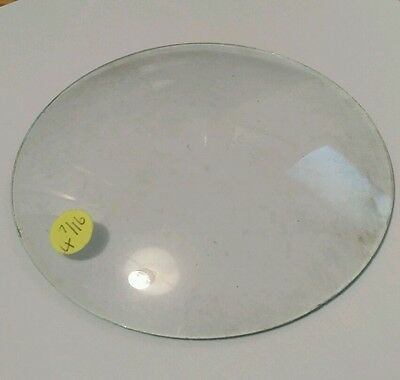 Round Convex Clock Glass Diameter 4 9/16'''