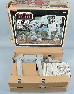 Vintage Return Of The Jedi At-At Walker With Box Kenner