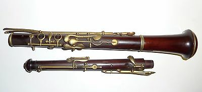 Antique JTL French oboe simple system