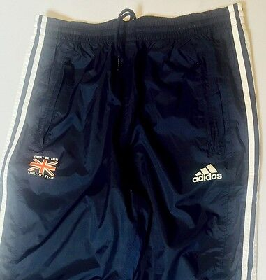 Team GB Softshell Training Pants Great Britain Athletics ATHLETE ISSUE BNIB