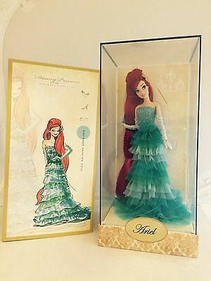 Disney Store Exclusive Limited Edition Designer Ariel Doll UK SELLER