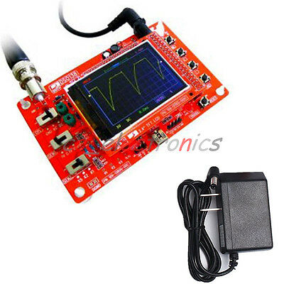 """9V Power Adapter US Probe Charger For DSO138 2.4"""" TFT Digital Oscilloscope Parts"""
