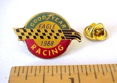 Goodyear Racing Eagle 1988 Metal And Epoxy Resin Advertising Pin