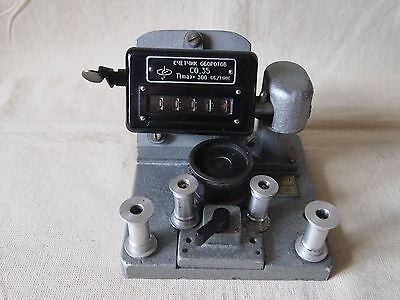 CO.35 Vintage Professional Movie 35 mm Film Counter speed film
