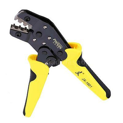 HCS Ratchet Terminal Wire Crimper Crimping Pliers Tool 3.96-6.3mm 26-16AWG K8G8