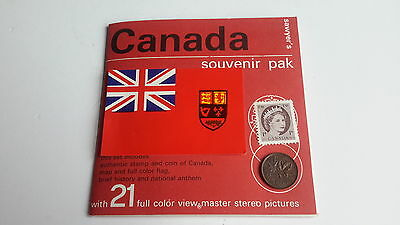 Viewmaster packet set 3d CANADA nations of the world series