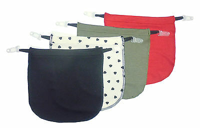 4 Pack Modesty Panel Insert With Garter Clip on Cami Panels  Various Color YSV4A