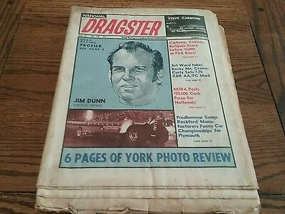 National Dragster News Publication August 1970
