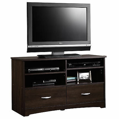"new! Cinnamon Cherry TV stand (up to 46"") - Sauder Beginnigs collection"