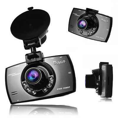 """1080P 170 degree 2.7"""" LCD Car Dash Camera Video Cam Recorder with Night Vision"""