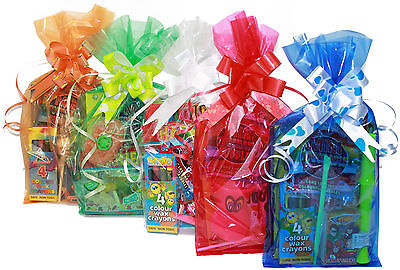 Childrens Pre Filled Party Bags Parcels Kids Birthday Sweets Toys Ready Made