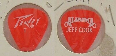 Alabama - Old Jeff Cook Concert Tour Guitar Pick