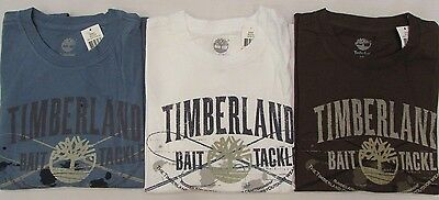 NEW MEN'S TIMBERLAND SHORT SLEEVE GRAPHIC LOGO T-SHIRT $30 PICK A SIZE /& COLOR