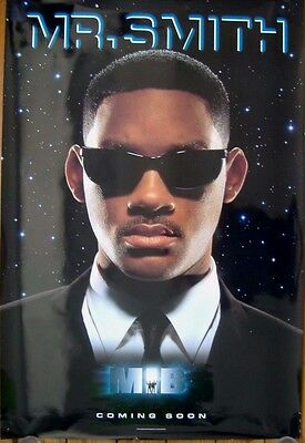 Men in Black (1997) Original D/S Advance One-Sheet Poster, WILL SMITH