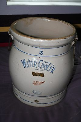 Vintage 5 Gallon Red Wing Advertising Water Cooler
