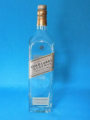 Johhnie Walker Gold Label Reserve Blended Scotch Whiskey Bottle...empty