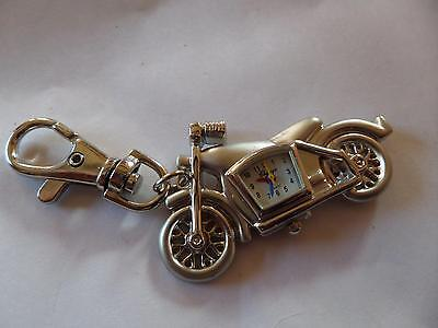 Motorbike Keyring Watch (M8 )NEW BATTERY BEFORE POSTING FREE P&P Xmas Gift