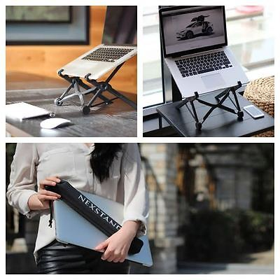 Portable Height Adjustable Folding Laptop Notebook macbook Stand mount-Nexstand