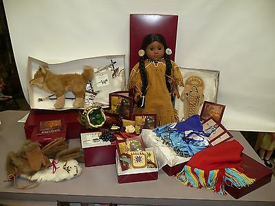 American Girl Kaya by Pleasant Co., Dolls, Dog, Jingle Dress, Food, Accessories