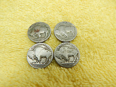 Mixed Lot of Vintage Unsearched  Indian Head - Buffalo Head  NICKELS / Old Coins
