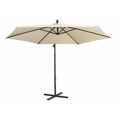 Milano outdoor 3M cantilever Umbrella with bonus full length protective cover
