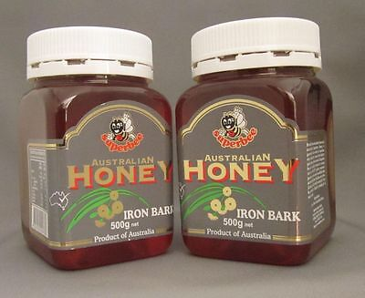 Iron Bark Honey, So Sweet, Superbee, Twin pack, 2*500gms, free shipping