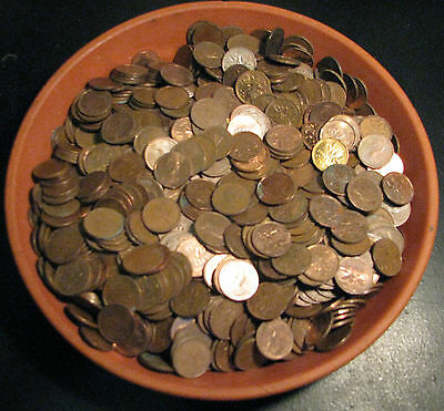 Canadian 1965-1996 6.5pounds Copper Pennies 98% Pure Copper Bullion