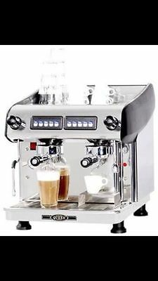 New Expobar Compact 2 Group High Cup Commercial Coffee Machine
