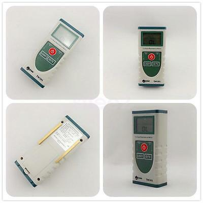 Handheld Surface Resistance Meter with LCD Display Electrostatic Tester TM385
