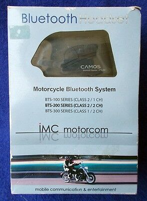 IMC Motorcycle Rider to Passenger Bluetooth Headset System BTS-200 Series