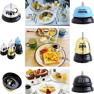 1PC Desk Table Bell ~ Ring For A Beer / Pint / Drink ~ Ideal Novelty Gift HOT LH