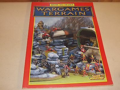 Games Workshop How to Make Wargames Terrain 1996 OOP - Free Shipping!