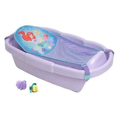 The First Years Ariel Bath Tub with Bath Sling and Toys