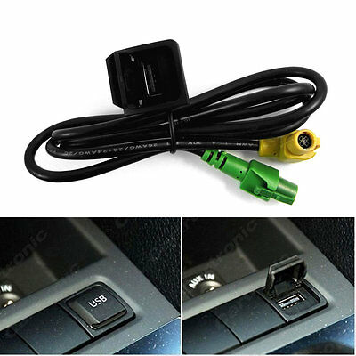 3.5MM Ports 3 Pins GL1800 High Quality USB Switch Cable For Volkswagen NR