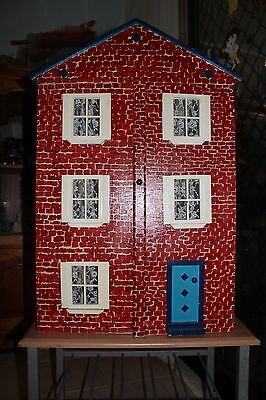 Dolls House with furniture and accessories