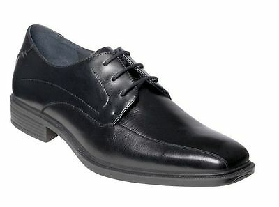 Mens HUSH PUPPIES MERCHANT Black FORMAL/DRESS/WORK/CASUAL/LEATHER SHOES