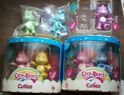 Modern care bear cuties lot of 7 figures grumpy cheer share bedtime and more!!
