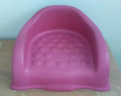 Baby Smart Cooshee Booster Classic Chair Color: Pink  Toddler Girls Seat