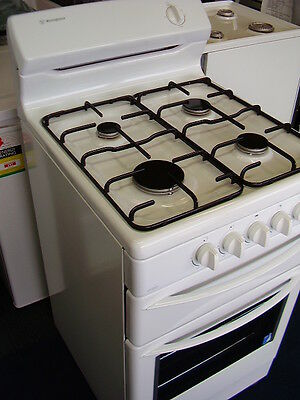 540mm Westinghouse Freestanding LG Gas white Stove