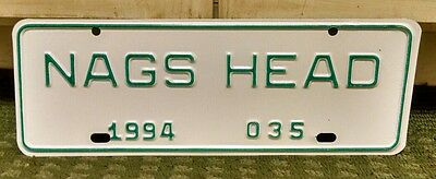 1994 NAGS HEAD North Carolina City License Plate Topper Issue #035 - NC - NOS -