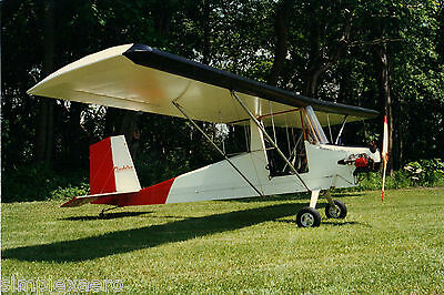 Cloudster Ultralight/Experimental Light Sport aircraft construction plans