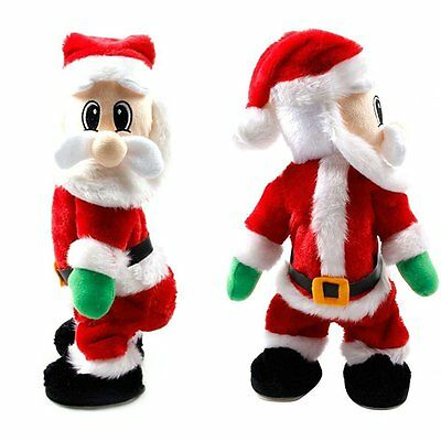 Christmas Twisted Wiggle Hip Twerking Santa Singing Electric Toy