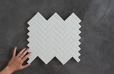 Wellington Herringbone Mosaic tiles
