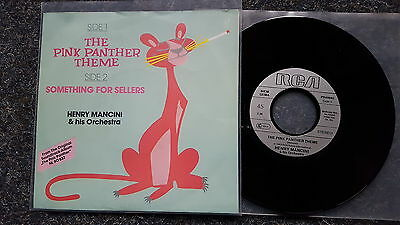 Henry Mancini - The Pink Panther Theme 7'' Single Germany