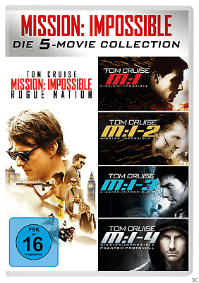 Mission: Impossible 5-Movie Set - (DVD)