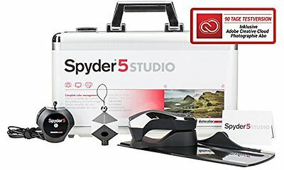 Datacolor Spyder5 STUDIO Equipement d'impression photo Noir  875720001435