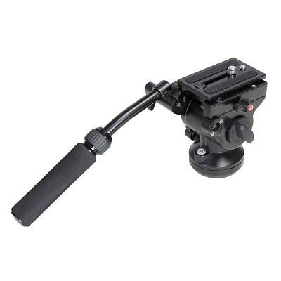 Koolertron Pro 360° Photography Camera Fluid Head with Quick Release Plate Heads