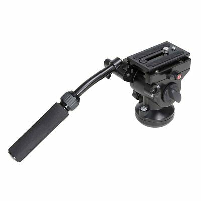 Pro 360° Camera Hydraulic DSLR DV Fluid Hydraulic Head with Quick Release Plate