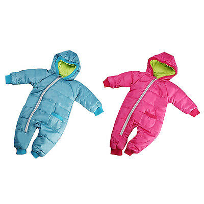 Baby Girl Boy Kid Toddler Snowsuit Coat Jacket Jumper Outwear Clothes SN